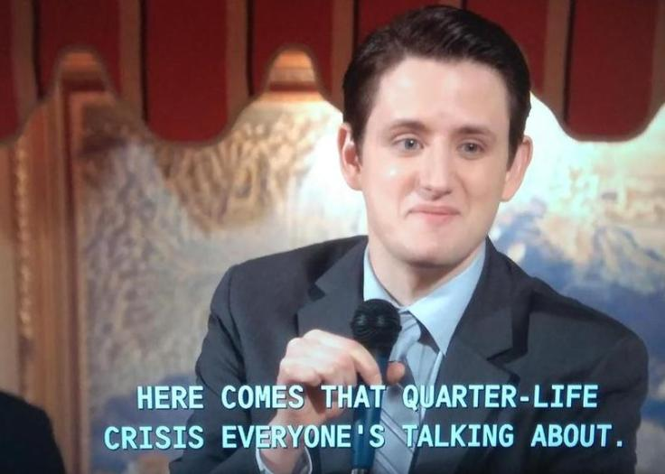 here comes that quarter life crisis everyones talking about gabe the office