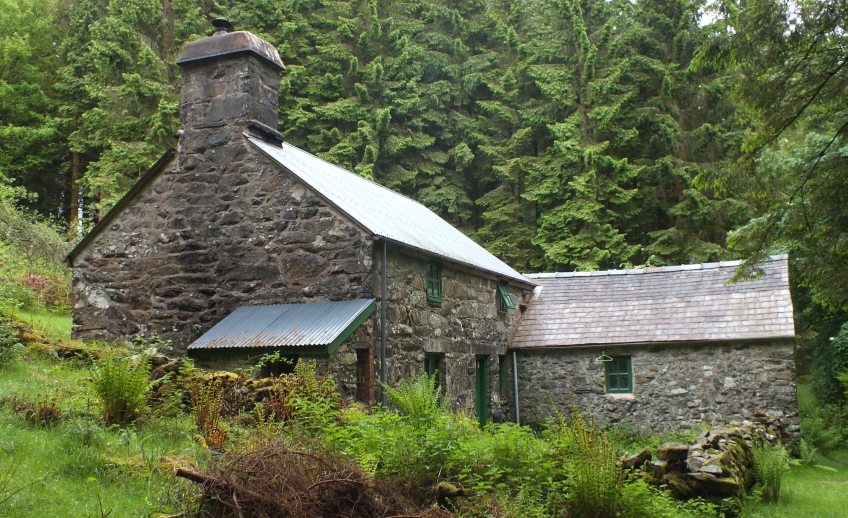 Mountain bothy wales
